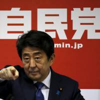 Abe aims arrows at new targets with three fresh goals for 'Abenomics,' 20% rise in GDP