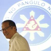 Aquino lauds Japan forces shift, jabs 'what is ours is ours, what is yours, we share' China isle stance