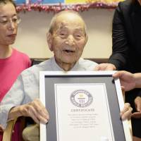 Japan's centenarian population tops 60,000 for first time