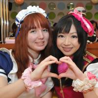 Chilean woman lives her dream, works in Akihabara maid cafe for a day
