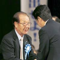 Abe renews pledge to solve North Korean abduction issue