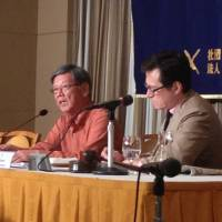 Okinawa governor says people's human rights neglected in U.S. base saga