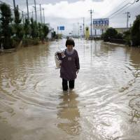 Riverbank ruptures leave three dead, 22 missing; Sendai urges over 400,000 to evacuate