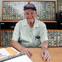 WWII veteran transmitted news of war's end