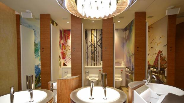 Cities, firms clean up with wins at Japan's first toilet awards