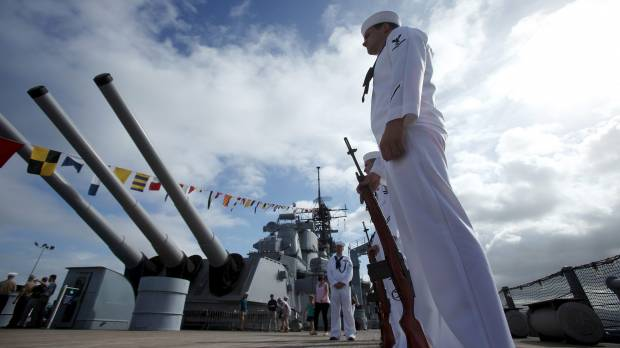 U.S. marks 70th anniversary of WWII's end; Obama honors war dead, lauds ties with Japan