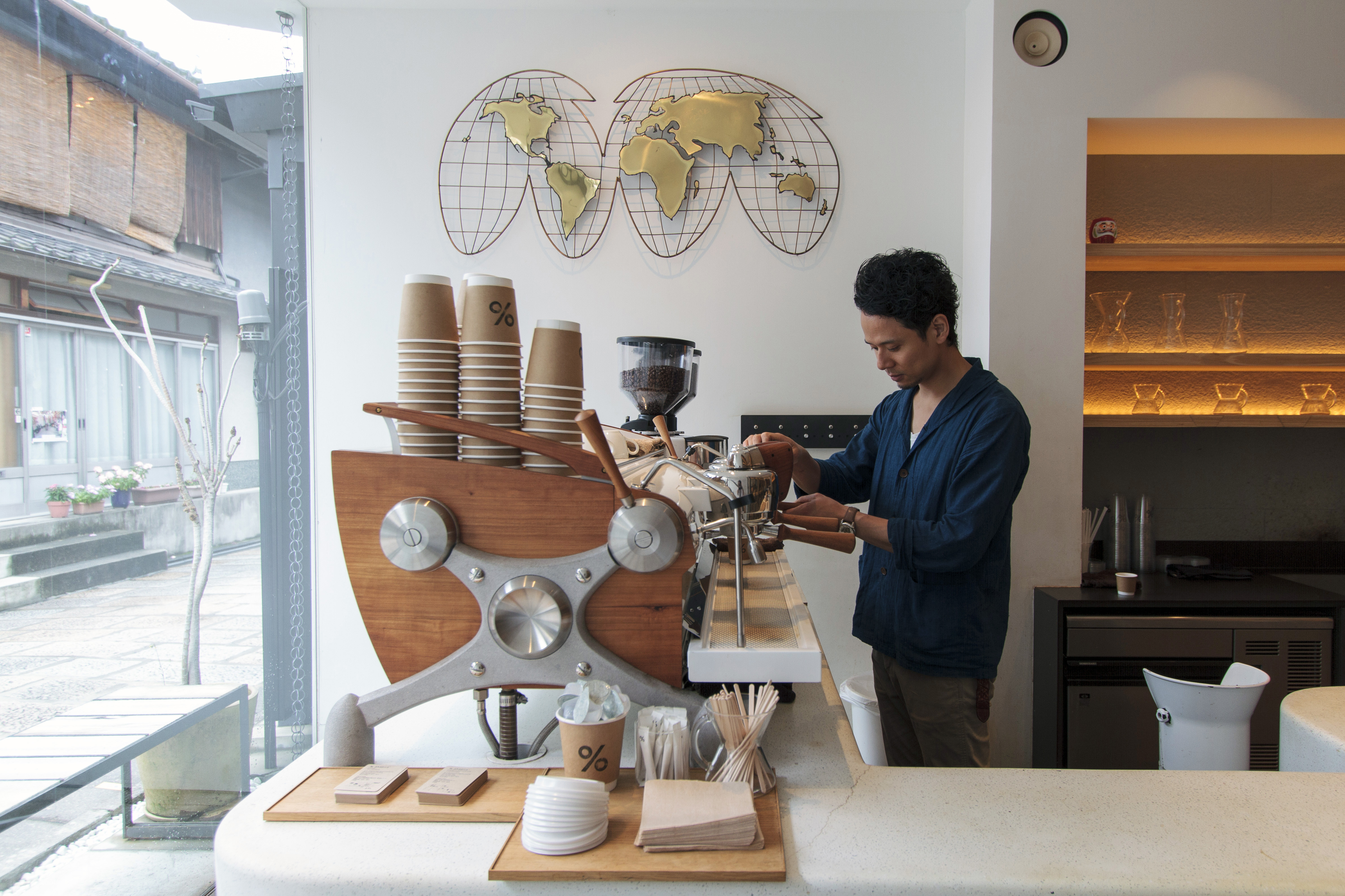 Roasted On The Spot Coffee From Kyoto Is Going Global