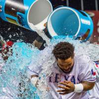 Rangers climb within half-game of first place