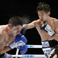 Ioka wins first defense of WBA flyweight crown
