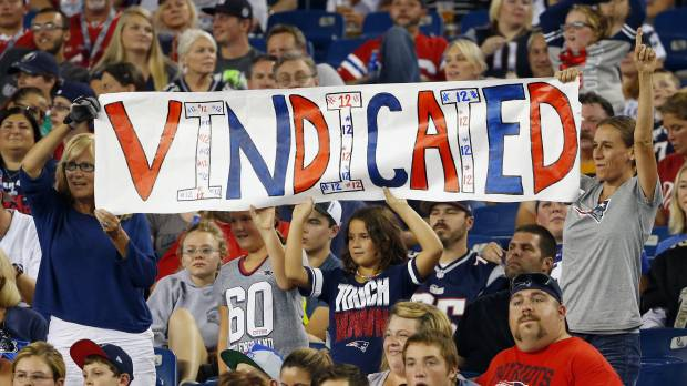 Ruling on the field rejected: Judge lets Brady off 'Deflategate' hook: NFL appeals