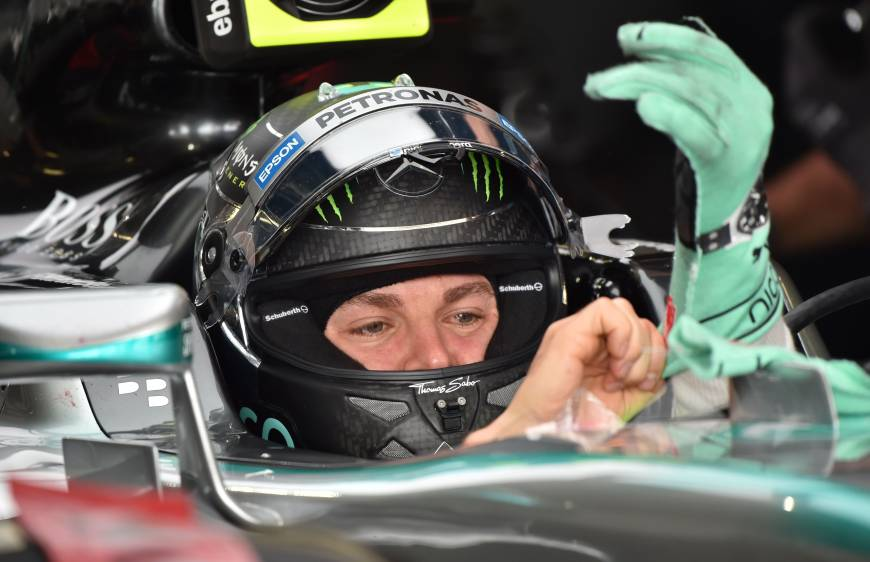 Rosberg Claims Pole Position For Japanese Grand Prix The