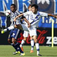 Kurata's 93rd-minute strike gives Gamba a draw with Matsumoto