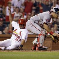 Nationals hold off first-place Cardinals