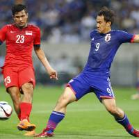 Okazaki ready to help Japan unleash scoring barrage against Cambodia