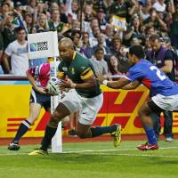 Top League stars power South Africa's victory over Samoa