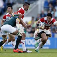 Japan beats South Africa in biggest shock in Rugby World Cup history
