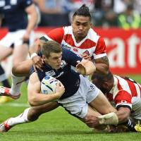 Japan fails to repeat heroics in defeat to Scotland at Rugby World Cup