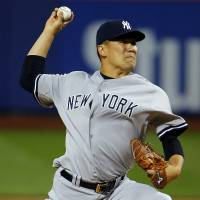 Tanaka to miss next start with strained hamstring
