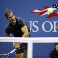 Nadal tumbles out of U.S. Open