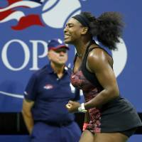 Serena gets past sister Venus in U.S. Open quarterfinals