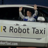 [VIDEO] Robot Taxi announces plans for experiments using driverless cars on public roads
