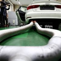 Mighty VW was undone by Japanese firm Horiba's portable emissions-gauging systems