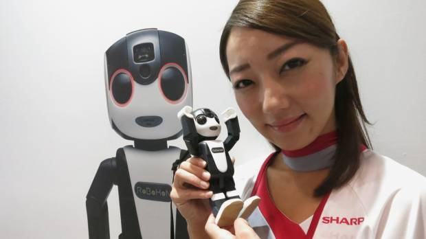 Sharp melds a robot and mobile phone to create the RoBoHoN