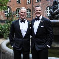 Gay U.S. ambassador to Denmark weds partner