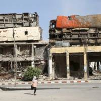 Intense Russian airstrikes kill four civilians in Homs, Syria activists say