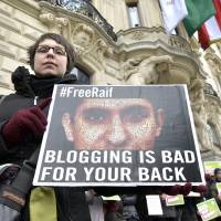 Saudi blogger flogged for insulting Islam bags Sakharov rights prize, spurring calls for pardon