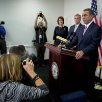 To tea party's chagrin, exiting Boehner gets nod for deal to avoid shutdowns till at least '17