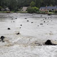 Floodwaters overwhelm South Carolina dams after week of deadly 'fire hose' downpours
