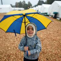 As winter looms, Germany struggles to find warm homes for refugees
