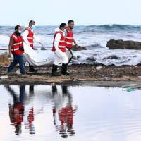 43 would-be migrants wash up dead on Libyan beaches
