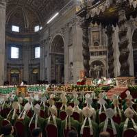 Marriage is forever, Pope says, as Catholic bishops begin historic talks on change
