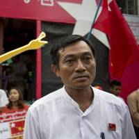 Barred from remote island, Myanmar's opposition sees dirty tricks in campaign
