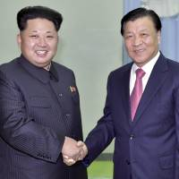 Visiting Chinese official tells North Korea's Kim that Beijing can help revive nuclear talks