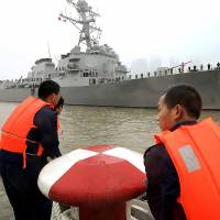 U.S. rivalry with China flares in South China Sea after warship's defiant passage