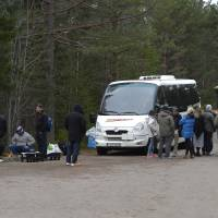 After fleeing wars, refugees now 'too frightened' to live in cold, dark Swedish forest