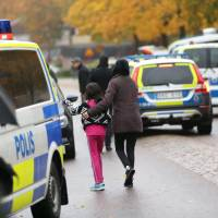 Teacher killed, pupils hurt in sword attack on Swedish school