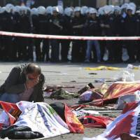 At least 86 dead in attack on Ankara peace rally