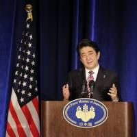 Abe to battle for broader foreign support for SDF changes