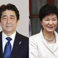 After Washington's prodding, Abe and Park finally expected to hold talks