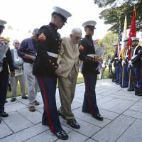 Former American POWs held by Japanese recount memories during visit