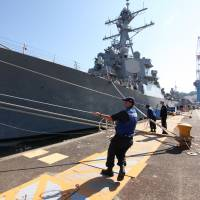 U.S. deploys advanced missile defense ship to Japan