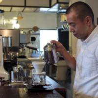 Kyoto's Weekenders Coffee keeps customers on their toes