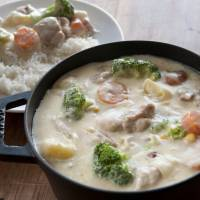 An idea simmering for centuries: Japanese 'white stew'