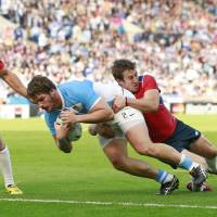 Argentina hammers Namibia in teams' Pool C finale