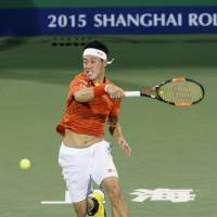 Anderson ousts Nishikori in Shanghai Masters third round