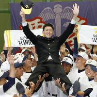 Hawks snatch rights to negotiate with pitcher Takahashi in NPB draft